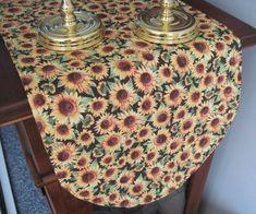 Sunflower Tapestry Table Runner   Everything Sunflowers   Pinterest    Sunflowers, Tapestry And Quilt Table Runners