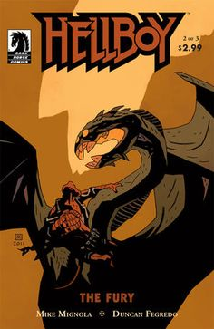 I Reads You - a CBB Blog: Leroy Douresseaux on HELLBOY: THE FURY #2