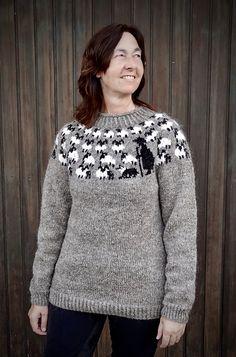 Ravelry: Shiona's Schäfer/Shepherd Pulli pattern by Shiona Rizza Sweater Knitting Patterns, Ravelry, Sheep, Sweatshirts, Crochet, Sweaters, T Shirt, Fashion, Fashion Ideas