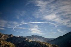 F-15 circling over the Korengal Valley