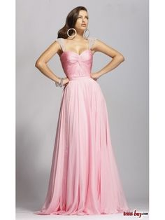 Buy Custom Made High Quality 2012 Pink Spring StylePrincess Strapless Sleeveless Chiffon Cheap Prom Dress / Evening Dress PD-7004 at wholesale cheap prices from Bridal-Buy.com