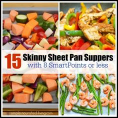 15 Skinny Sheet Pan Suppers for Weight Watchers with 8 SmartPoints Or Less https://simple-nourished-living.com/skinny-sheet-pan-recipes-weight-watchers-8-smart-points/?utm_campaign=coschedule&utm_source=pinterest&utm_medium=Healthy%20Weight%20Watchers%20Recipes%20and%20Weight%20Loss%20Tips&utm_content=15%20Skinny%20Sheet%20Pan%20Suppers%20for%20Weight%20Watchers%20with%208%20SmartPoints%20Or%20Less