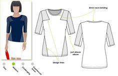 Pattern Review: StyleArc Tamara Top