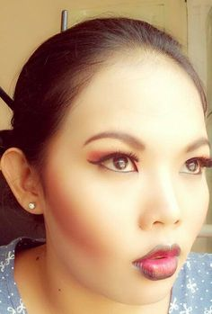 Black Japan.. Muse : Emil Make-up : Tiwi Yahdi (me) Photo by : Me from smartphone