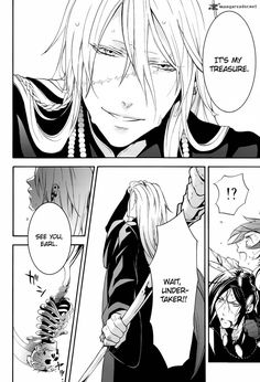 Why would he hide such pretty eyes... I still haven't read the manga though