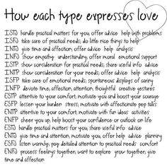 As ENFP I'll be your biggest cheerleader. Is the way I know how to show it.