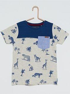 Tee-shirt imprimé animaux