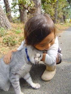 And this is why children and animals need each other.
