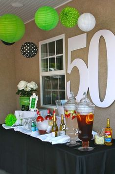 50TH Birthday Party Ideas | Photo 1 of 10 | Catch My Party