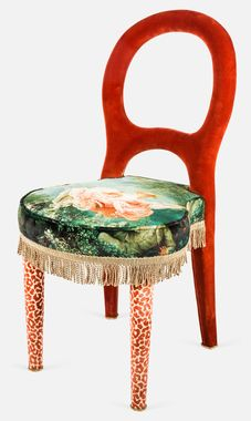 Promemora Bilou Bilou Fragonard Chair designed by Timothy Corrigan #ChairsforCharity #Schumacher