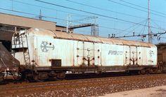 FS INTERFRIGO Kühlwagen in Mailand, Mai 1984 - Nr 865 4 014