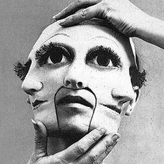 Weird photos and strange people from the past. Weird photos and strange people from the past. Eugene Ionesco, Arte Horror, Foto Art, Photomontage, Art Plastique, American Horror Story, Horror Stories, Belle Photo, Dark Art