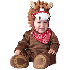 InCharacter Baby Playful Pony Costume