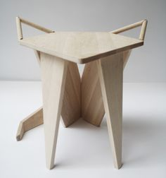 Projet étudiant : MIKKEL Stool par Iselin Lindmark #design #furniture #pin_it #decor @mundodascasas www.mundodascasas.com.br
