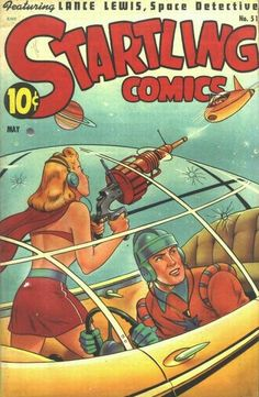 Cover for Startling Comics (Pines, 1940 series) #51