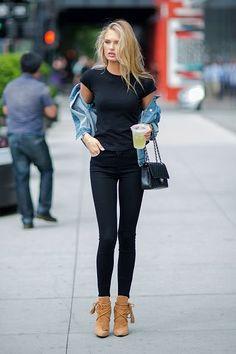 50+ Rosie Huntington Whiteley Street Style