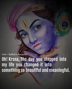 Krishna Mantra, Radha Krishna Love Quotes, Lord Krishna Images, Radha Krishna Pictures, Little Krishna, Cute Krishna, Krishna Leela, Krishna Radha, Happy Gif