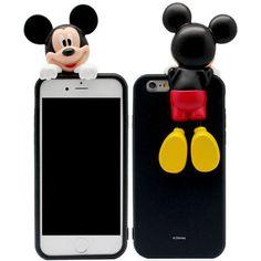 Genuine Disney Art Jelly Case iPhone 6 Plus Case Mickey Mouse Case Minnie Mouse #Disney