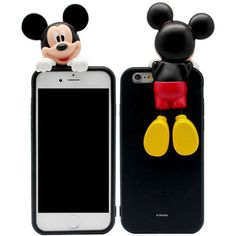 Genuine Disney Art Jelly Case iPhone 6 Plus Case Mickey Mouse Case Minnie Mouse #Disney
