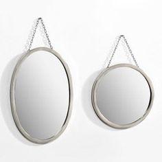 Miroir Barbier, rond ou ovale AM.PM - Miroir et décoration murale