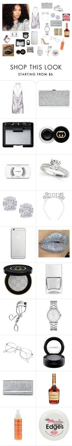 """""""New Year's Eve -India❤️"""" by kayy-mami ❤ liked on Polyvore featuring Milly, adidas, NARS Cosmetics, Kylie Cosmetics, Gucci, MAC Cosmetics, Effy Jewelry, Native Union, Nails Inc. and Ardell"""