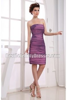New Style Strapless Short Homecoming Dress Party Gowns