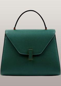 Molly Leather Shoulder Bag Green