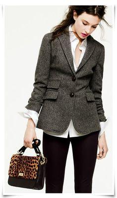 Charcoal Jacket.