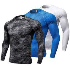 RunBusy: Long Sleeve Sport Shirt ~ Quick Dry Men's Running T-shirts  #biking #beactive #cycling #runbusy