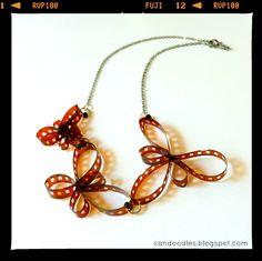 Negative necklace... Repin via Andaira- Esquemas de Bisutería y Manualidades