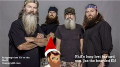Duck Dynasty Inappropriate Elf on the Shelf