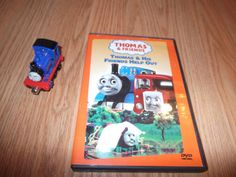 DVD Thomas & His Friends Help Out  with TRAIN