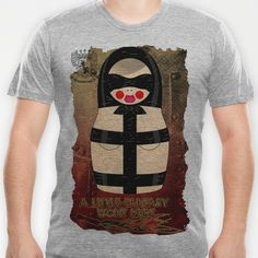 Latex Matryoshka/Nesting Doll T-shirt