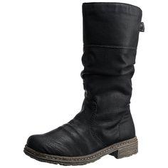 #RIEKER #Damen #Stiefel #schwarz - Stiefel, Rieker. Obermaterial…