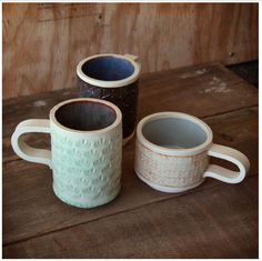 cool handmade mugs from isheely on etsy
