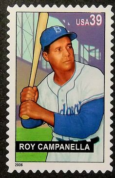 #Baseball #RoyCampanella #PassionGiftStampArt #Art