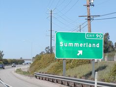 U.S. Route 101 Northbound Santa Barbara Freeway approaches at Exit 90 - Padaro Lane Summerland with this roadside sign located at Carpinteria, California. by RaymondYu, via Flickr