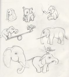 Let's draw an elephant by minerva