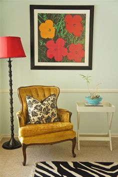 I need a wingback vintage styled chair...they just make for the best photography props.  But, I can't justify owning one that doesn't have a place in my home!