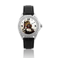 SMNI058A Despicable Me Minions 3D Women Wrist Watch Leather Band Xmas New Year -- To view further for this item, visit the image link.