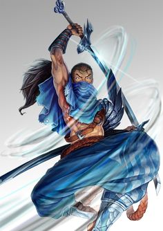 Epic art of the League #yasuo