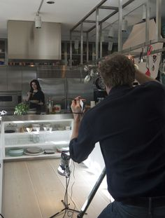 My kitchen has been taken over today as I've been doing the cover shoot for my new book, Nigellissima. I don't think anyone really actually enjoys having their photo taken but, having said that, I admit that the photographer, Mr Hugo Burnand, and his dynamic duo, Radu and Vanessa, made it all dangerously close to enjoyable.