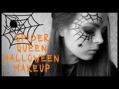 NASTYA BLUSH    Макияж на Хэллоуин - Королева пауков   Halloween makeup - Spider Queen - YouTube