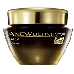 Avon Anew Ultimate 7s Night Cream. Harnessing the power of seven groundbreaking proteins, this luxurious Night Cream helps diminish the advanced signs of ageing of the skin as you sleep.