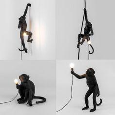 Outdoor Monkey Lamps - Decorative
