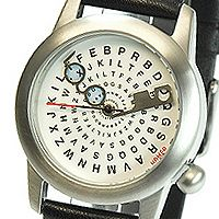 Optician watch.  This watch + my Scramble with Friends obsession would be bad...