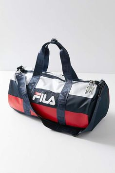 c734e1711f FILA Major Stripe Duffle Bag