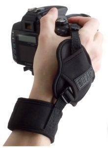 USA Gear DualGRIP Stabilizing Digital SLR Camera Hand Strap Grip for Canon EOS Rebel T5i , T4i , T3i , T3 , T2i , 70D , 100D , 550D , 600D , 650D , 1100D , 5D Mark III , 6D