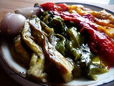 Escalivada o verduras asadas (Cataluña)