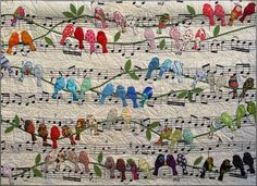 Bird Quilt found on Jigsaw website